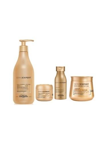 L'oreal Professionnel Loreal Absolut Set(Şampuan 500 Ml+ Maske 250 Ml+ Şampuan 100 Ml+ Maske 75 Ml) Renksiz